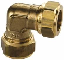 Produktbild: Klemmverschraubung Winkel 90°  8 mm VSH  Super