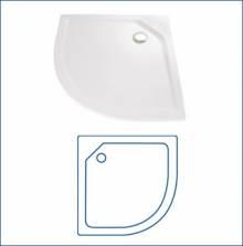 Produktbild: Viertelkreis Schürze für Acryl-Duschwanne 90 x 90 cm