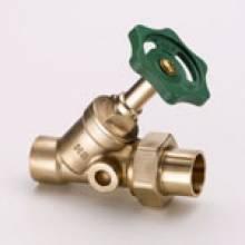 Produktbild: Schrägsitzventil  o.E. 15 mm, mit Lötstutzen und Lötverschr.