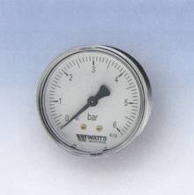 "Produktbild: RF-Manometer 50 axial MDA 50/10 1/4""  0 - 10 bar"