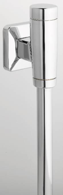 "Produktbild: Urinaldruckspüler Modell NILplus nova DN 15 1/2"" chrom mit Absperrventil"