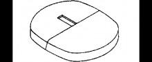 Produktbild: KERMI Blende zu Universalkonsole für Fertigmontage Farbe: weiß (RAL 9016)