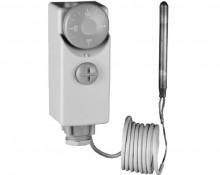 Produktbild: AFRISO Gehäusethermostat GKT/7D1, 0-90 Grad 1 m Kapillare, aussen einstellbar