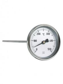 Produktbild: AFRISO Rauchgasthermometer, Ø 80 mm 0-500 °C, 150 mm