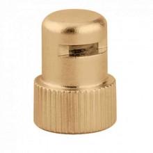 Produktbild: AQUASTOP - Hygroskopische Sicherheitskappe für Serie 5020 und 5021 - Messing