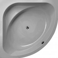 Produktbild: Galatea Eckbadewanne COAST CT 145 E CT145 E  145x145x48 cm weiß inkl. Träger