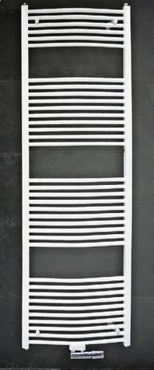 Produktbild: Badheizkörper mit Mittelanschluss gerade 1800mm x 1000 mm weiss