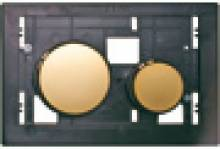 Produktbild: Betätigungseinheit für TECEloop WC-Betätigungsplatte, Tasten weiß