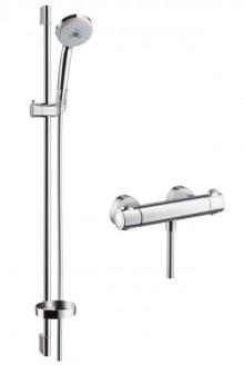 Produktbild: CROMA 100 Combi Wandstangen-Set Multi Ecostat Comfort, 900 mm, Abverkauf