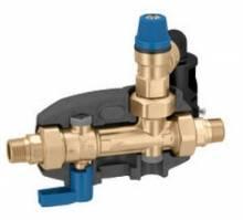 """Produktbild: Caleffi Sicherheitsgruppe für Warmwasser DN 15  1/2"""" - 6 bar bis 200 Liter"""