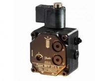 Produktbild: DANFOSS Ölbrennerpumpe BFP 21 L 3 mit Magnetventil, Drehrich. links, 24 l/h