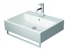 Produktbild: DURAVIT VERO Waschtisch 600 x 470 mm, 1 HL, mit ÜL, weiß  inkl. Handtuchhalter chrom