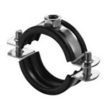 Produktbild: Edelstahlrohrschellen A 4 mit Schallschutzeinlage  12 – 16 mm  M 8
