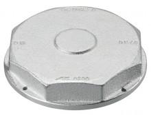 """Produktbild: Einstutzen-Verschlusskappe für Gaszähler 2"""" DN25"""