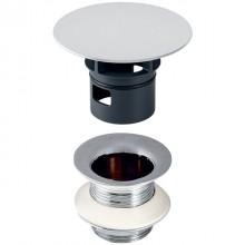 """Produktbild: GEBERIT Ablaufventil mit freiem Auslauf 1 1/4"""" x 50 mm, chrom"""