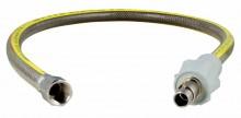Produktbild: Gas -Allgassicherheitsschlauch Edelstahl DN 15x1250mm