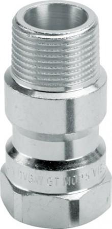 "Produktbild: Gasschutzarmatur TAE, DVGW-G IG/AG 3/4"""