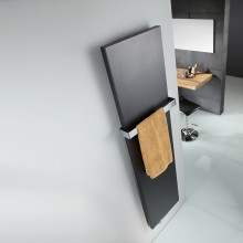 Produktbild: HSK Atelier Line  456 x 1806 weiss  Mittelanschluss