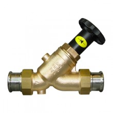 Produktbild: JRG-Schrägssitzventil m.RV LegioStop  Mapress-Versch. 15 mm, f.E.Vtl.,5283.015