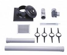 Produktbild: JUNKERS-Luft-/Abgaszubehör, Paket (PPs) Abgasleitung im Schornstein AZB 614/1