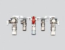 Produktbild: JUNKERS Montageanschlußplatte kpl. Nr. 991 für Aufputz