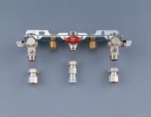 Produktbild: JUNKERS Montageanschlußplatte kpl. Nr. 993 für Aufputz