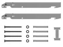 Produktbild: KERMI Schnellmontagekonsolen-Set für Typ 11 - 33, Bauhöhe 300 mm