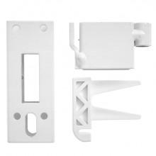Produktbild: KERMI Zubehör-SetTyp 10 Standkonsole Zwischenstück, Abstützung und Trägerroh