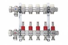 Produktbild: KERMI xnet FBH-Heizkreisverteiler FT FT-3, Länge 260 mm, mit Topmeter