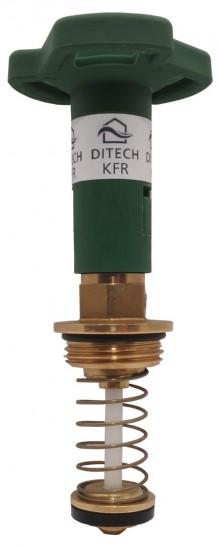 """Produktbild: KFR-Oberteil nicht steigend, Messing DN15 1/2"""""""