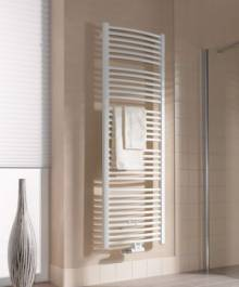 Produktbild: Kermi Basic-50 R Badheizkörper, BH: 804 mm   450 x 35 mm, weiss, gebogene Form