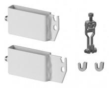 Produktbild: Kermi Trägerset f. Standkonsolenf. 60x10  Typ 12-33, weiß, für Flachheizkörper