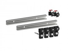 Produktbild: MEPA-Wannenleisten Duschwanne Stahl/Acryl 2 x 700 mm