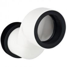 Produktbild: MONOLITH Anschlussstutzen 7 cm, etagiert, für Wand-WC, weiß