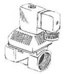 "Produktbild: Magnetventil, 230 Volt 1 1/2"", stromlos offen"