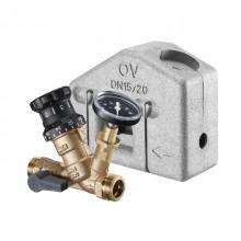 Produktbild: OVENTROP Aquastrom VT Thermostatventil DN 15, PN 16, AG, Rotguss, m. Isolierung