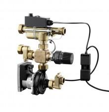 Produktbild: OVENTROP Regelstation Regufloor HN DN 25 mit HE-Pumpe Wilo Yonos Para