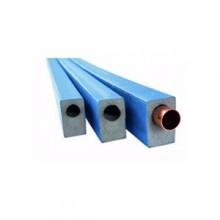 Produktbild: ARMACEL PE Robust Dämmhülse eckig Rohr:18 / 9 mm Länge 2m, blau (Meterware)