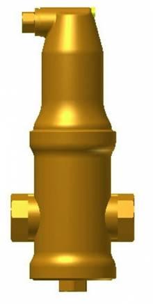 """Produktbild: PNEUMATEX Zeparo Luftabscheider Typ ZUV 20, 3/4""""IG, 1.25 m³/h"""