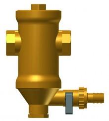 """Produktbild: PNEUMATEX Zeparo Schlammabscheider Typ ZUM 25 Magnet, 1""""IG, 2 m³/h"""