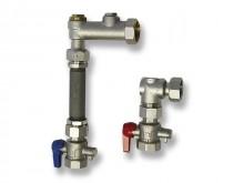 Produktbild: ROTH Wärmemengenzähler-Set senkrecht Einbauhöhe 360 mm, Einbaulänge 120 mm