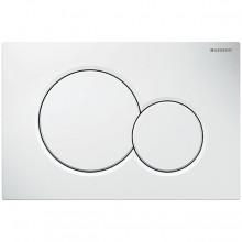 Produktbild: SIGMA01 Betätigungsplatte  für 2-Mengen-Spülung, weiß