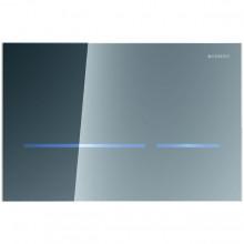 Produktbild: SIGMA80 Betätigungsplatte berührungslos für 2-Mengen-Spülung, Glas verspiegelt