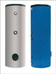 Produktbild: Solarspeicher 200Liter 2 Register Blechmantel HT 200 ERR weiss