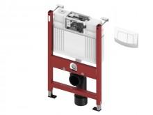 Produktbild: TECE BASE Modul für Wand-WC BH 820 mm, Tece-Spk., inkl.  Betät. -Platte  weiß vorne/oben