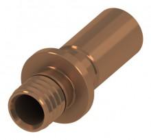 Produktbild: TECEflex Presslötanschluss CU Rohr 15 mm auf TECEflex 16 mm