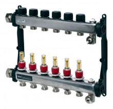 Produktbild: TECEfloor Edelstahlverteiler HKV HKV 2 mit DFA