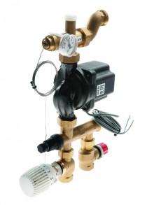 Produktbild: TECEfloor Festwertregelung 20-55 °C mit Thermostatkopf und Vorlauffühler