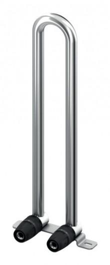 Produktbild: TECElogo Heizkörper-Montagegarnitur für Ventilkompakt-HK, Bodenmontage,16 mm