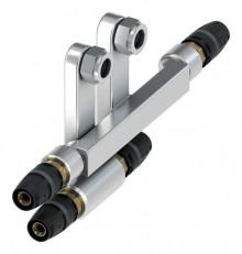 Produktbild: TECElogo SLHK-Anschlussgarnitur 16 x 15 Cu x 16